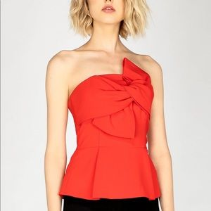 Anthropologie | Adelyn Rae Rozina Bow Top